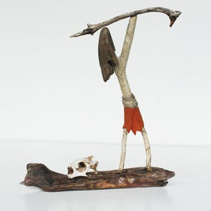 Image of Turtle Hunter - Driftwood Sculpture
