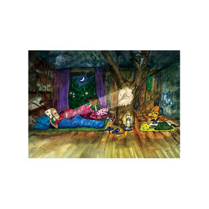 Image of 'A Night in the Tree House' - Limited Edition Print 4
