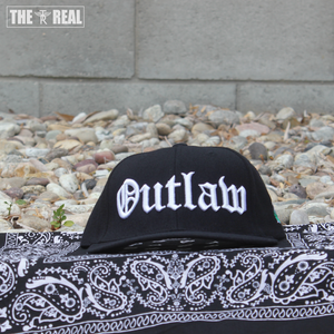 Image of OUTLAW Snapback in White W/ TR PLANT