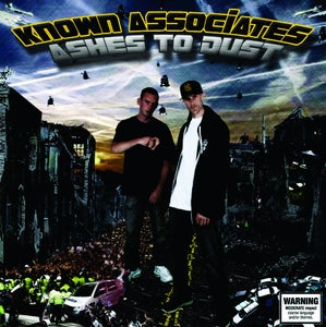 """Image of Known Associates """"Ashes to dust"""" CD"""