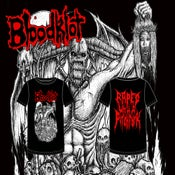 Image of BloodKlot - Raped With A Pitchfork Shirts