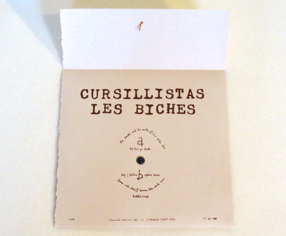Image of CURSILLISTAS ~ LES BICHES ~ lp (TIME-LAG 046)