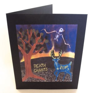 Image of DEATH CHANTS ~ DEATH CHANTS ~ lp (TIME-LAG / RED RECORDS #8)