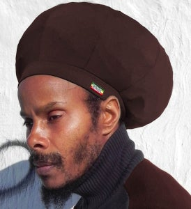 Image of Jah Roots Stretch Hats (Brown)
