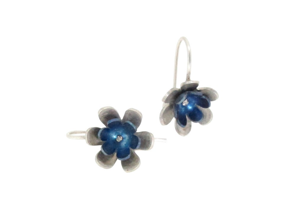 Image of Springtime Spring flower drop earrings