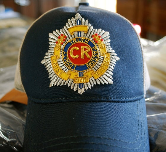 Image of CR Fireman'c crest ONE OF A KIND - Navy/Mesh