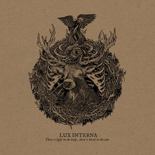 Image of Lux Interna - There is light in the body, there is blood in the sun CD