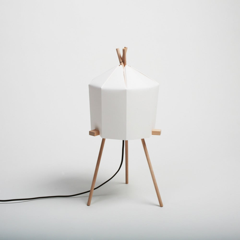 Paper Lamp Milk Design Shop
