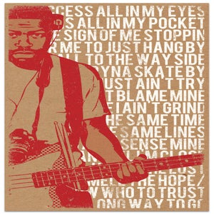 Image of It Ain't Easy - Floco Torres Screen Print