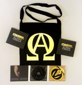 Image of Caspa - Alpha Omega Album Bag Pack