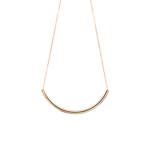 Image of Golden Tube necklace