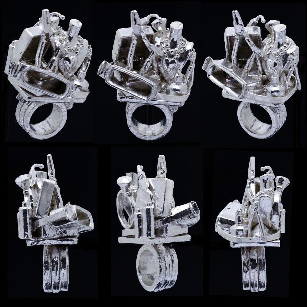 Soldering Rebecca Rose Sculpturings