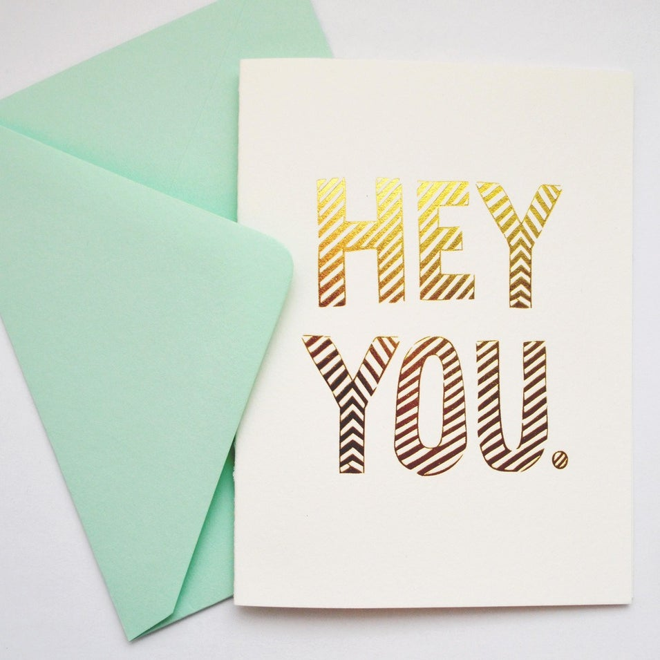 Image of HEY YOU card
