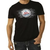 Image of Real Rob Report - Men's Black T-Shirt