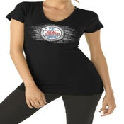 Image of Real Rob Report - Women's Black T-Shirt