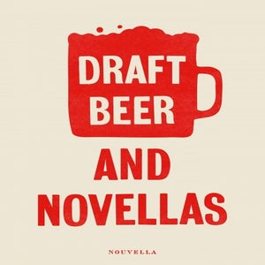 Image of Novellas + beer poster