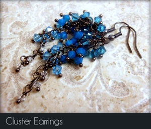 Image of Cluster Earrings