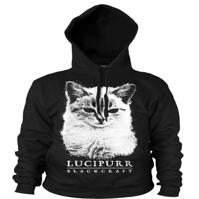 Image of Lucipurr- Hooded Pullover Sweater