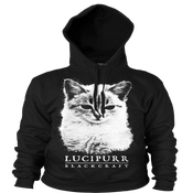 Image of Lucipurr - Hooded Pullover Sweater