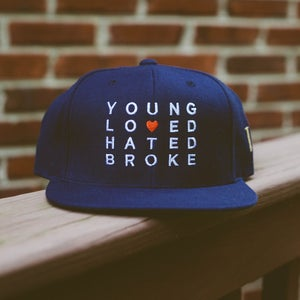 "Image of ""Young, Loved, Hated & Broke"" SnapBack"