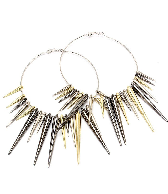 Image of Spiked Out Earrings