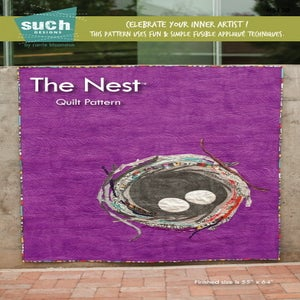 Image of The Nest Quilt digital pattern (downloadable PDF pattern)