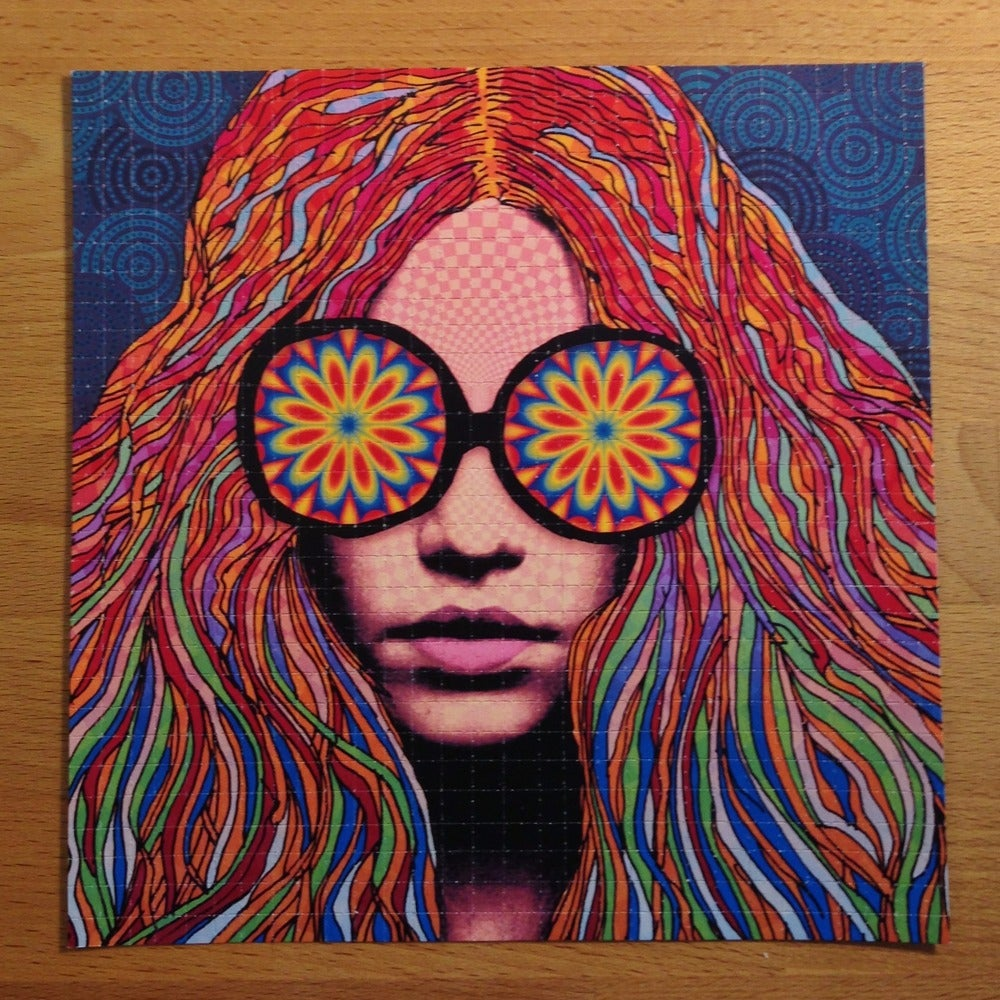 Image of Girl With Kaleidoscope Eyes