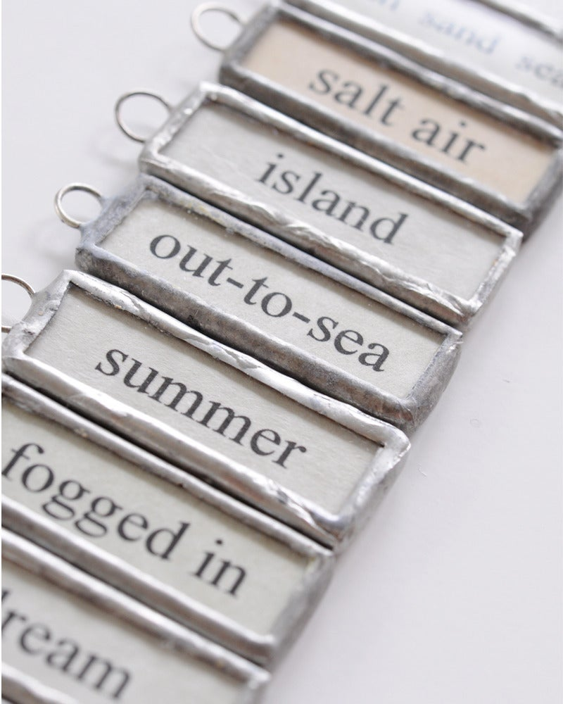 Image of Word Drop - Nantucket