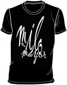 Image of Milo Logo Shirt (Black)