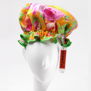 Image of Showercap pink roses with lime foliage - big size