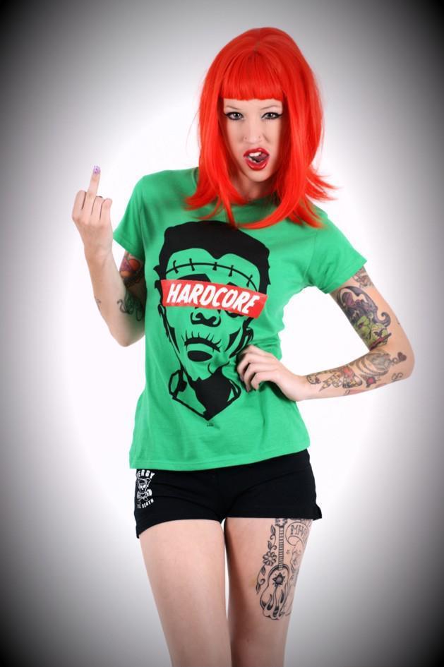 Image of Hardcore FRANKIE Mens & Ladies T-Shirt