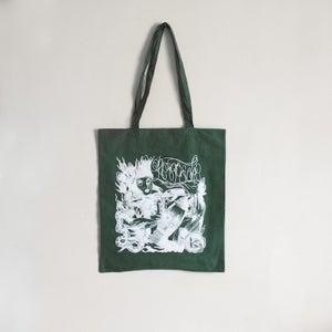 Image of Keepsafe 'Green & White' Tote Bag