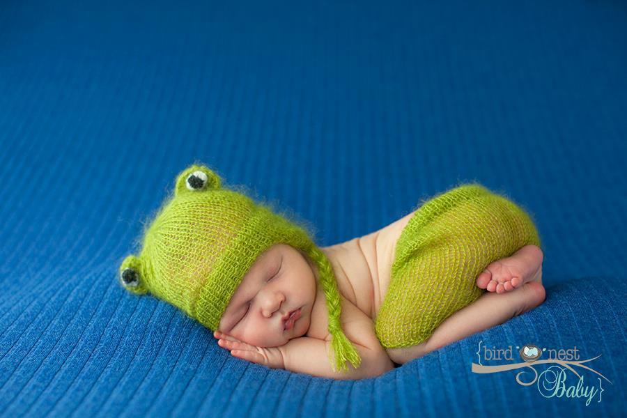 Image of Little Froggy Hat/Short Set