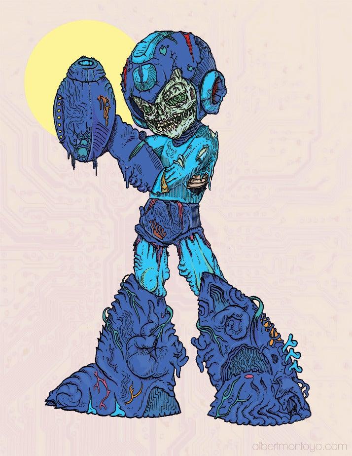 """Image of Print """"Mega Undead"""""""