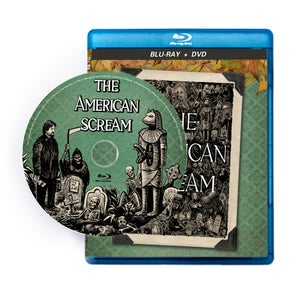 Image of THE AMERICAN SCREAM Blu-Ray + DVD Combo      (U.S. and Canada ONLY allow 4-6 weeks for shipping)