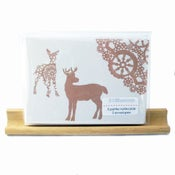 Image of hello deer . . . . . . . . petite notecard set