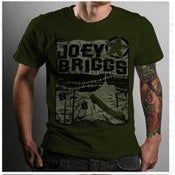 Image of Joey Briggs - Sneakers Army Green T