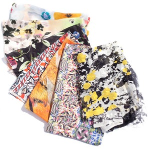 Image of Assorted Printed Silk Sets