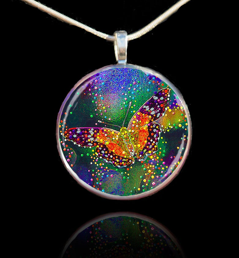 Image of Butterfly Transformation Pendant - Release your inner beauty