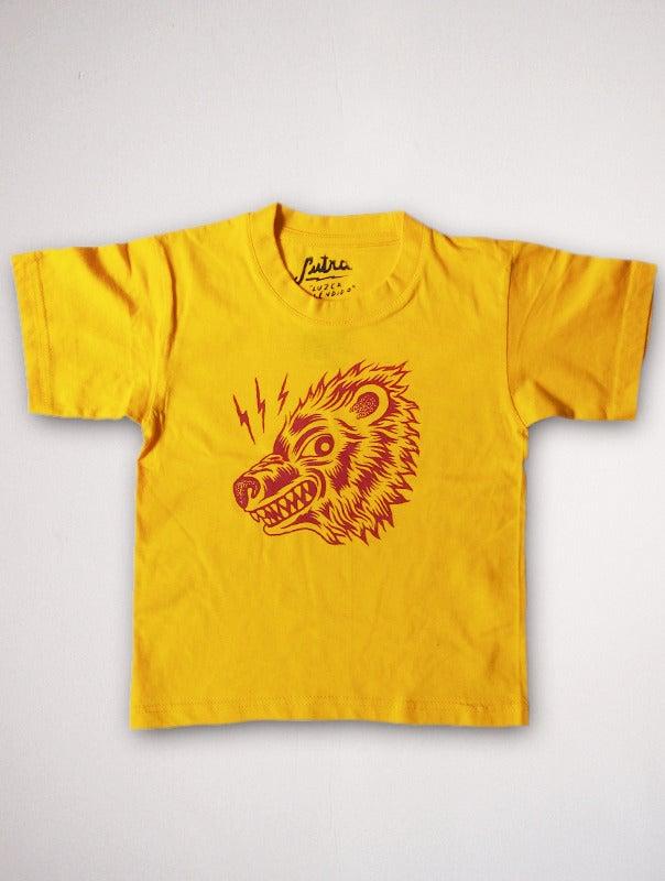 Image of Camiseta Niño Oso Amarillo