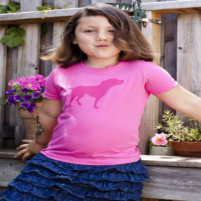 Image of kids fuchsia tiny tim tee