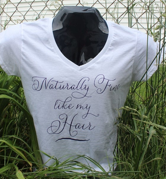 Image of Naturally Fine Like My Hair Tees