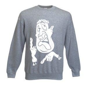 Image of Headache sweatshirt Grey