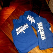 "Image of SUCIOS ""LIMITED EDITION"" ROYAL BLUE TANK"