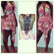 Image of Flower Bomb Mini Dress