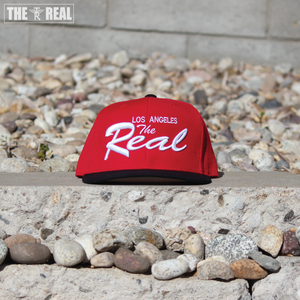 Image of TR LA Snapback (RED / BLACK / WHITE)