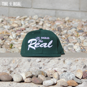 Image of TR LA Snapback (FOREST GREEN / WHITE)