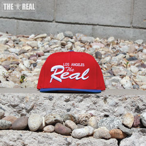 Image of TR LA Snapback (RED / BLUE / WHITE)