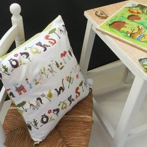 Image of A - Z Woodland Cushion