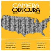 Image of Camera Obscura North American Tour Poster